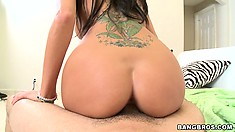 Bootylicious dame has no problems with being fucked by unknown male