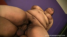 Karla Lane is a huge sex junkie that knows what to do to BBDs
