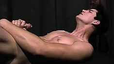 Hot gay studs with big peckers jerk, suck, and drill some tight ass
