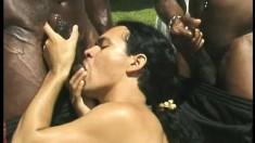 Well-hung black strongmen enjoy some mega hard anal drilling