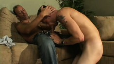 Cute boys go on a blind date and end up having lots of hot anal sex