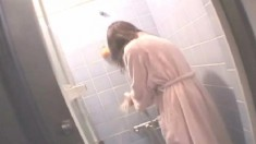 Cute Japanese girl has a tight hairy peach longing for a hard pounding