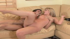 Luscious Bella Lynn is longing for a stiff prick and a hard pounding
