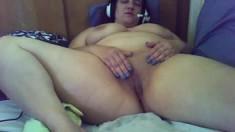 Awesome Fat Bbw Ebony Slut Riding