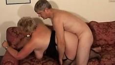 Beautiful European Milf Taking Fat Cock