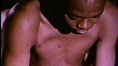 Old school black dudes get their freak on during a vintage porno