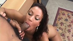 Naughty secretary with big tits Vanessa gets fucked hard in the office