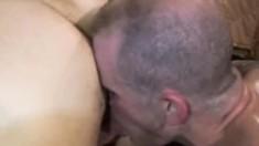 Igor Lucas, Thomas Steel and Brock Hart have an intense gay threesome