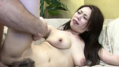 Hitomi Oishi begs to get anal slammed while choking on a cock