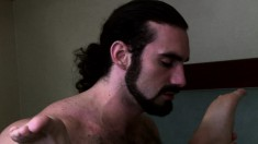 Two Lustful Daddies Surrender Their Bodies To One Another On The Bed