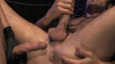 Kinky Stud Worships His Partner's Long Prick And Fists His Juicy Ass