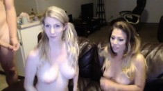 Amateur Bisexual Threesome Sex Action