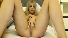 amateur wlllada fingering herself on live webcam