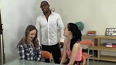 Wife Amateur Interracial Threesome