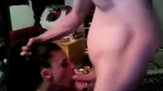 Cambabe Rough Gagging Face Fucking Action