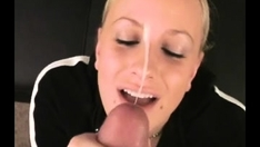 Amateur blonde girlfriend homemade anal with facial cumshot