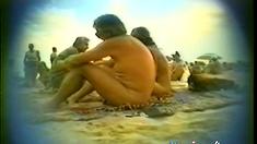 blowjob on a beach of Cap d'Agde