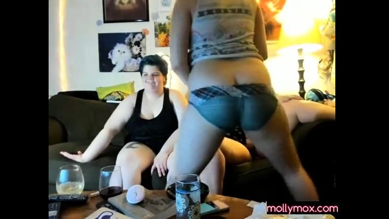 Lesbiam fucked Bondage